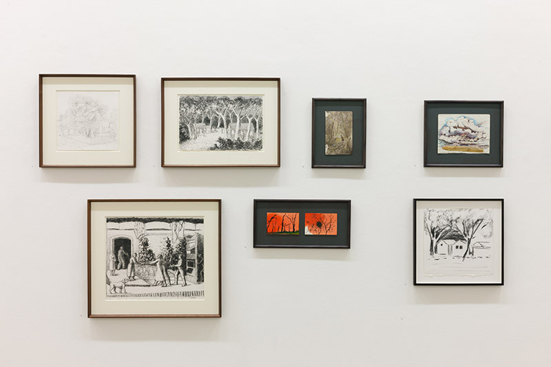 An exhibition of Drawings at Kerlin Gallery Dublin